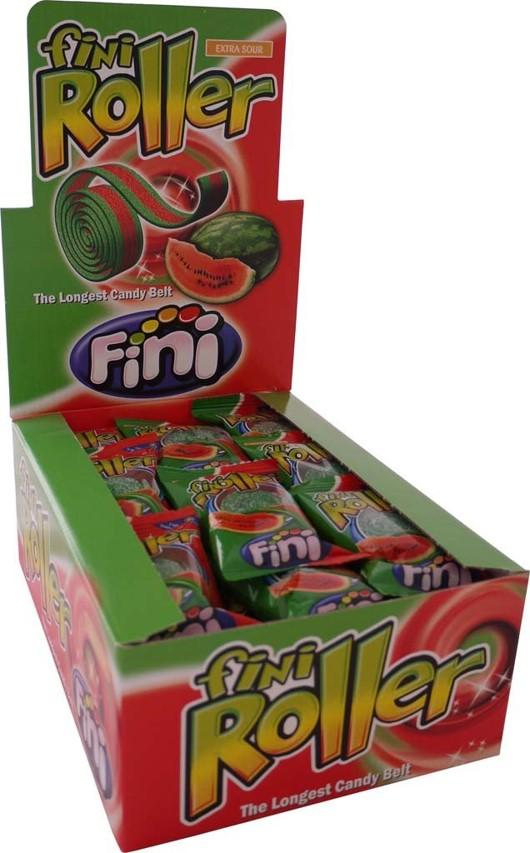 Confectionery Fini Roller Watermelon 20g X 40 - nutsandsweets.com.au