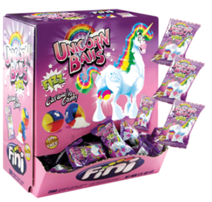 Confectionery FINI UNICORN BALLS 200PCS