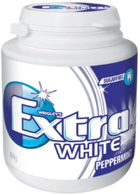 Extra White peppermint 64gX6