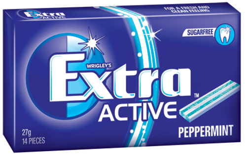 Extra Active Peppermint 27g X 24