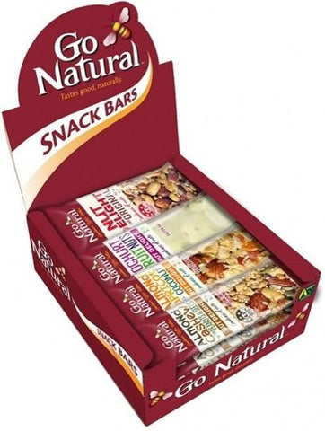 GO NATURAL MIXED BOX 40g x 16