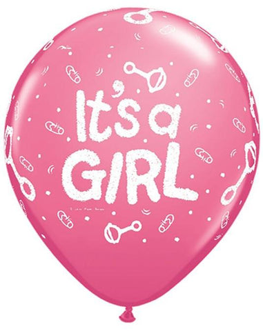 BALLOONS IT'S A GIRL
