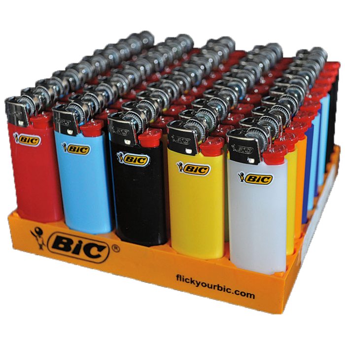 BIC MINI Lighters 50'S - nutsandsweets.com.au