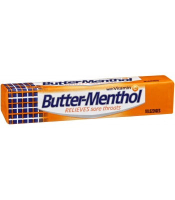 Soothers Buttermenthol 10's X 36