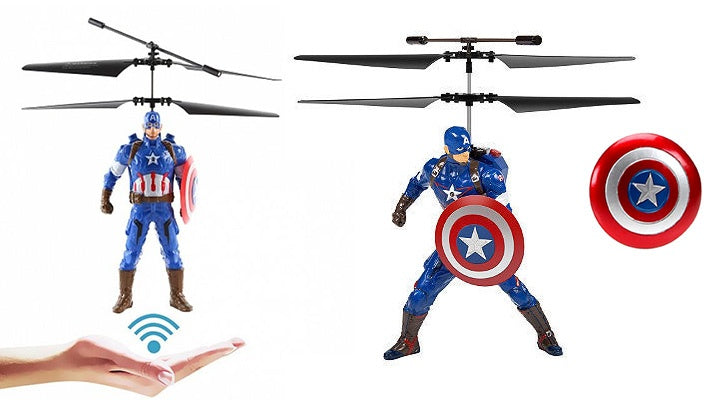 Toys - CAPTAIN AMERICA-The Flying SuperToy - nutsandsweets.com.au