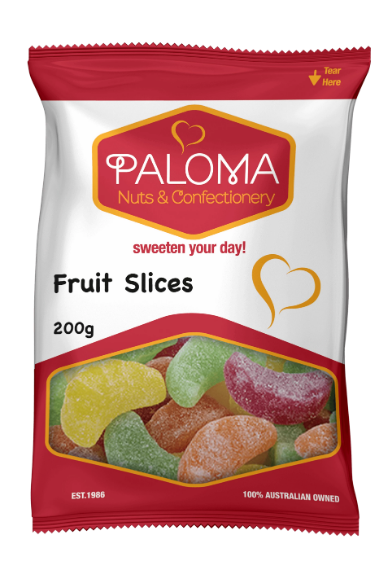 Paloma Fruit Slice