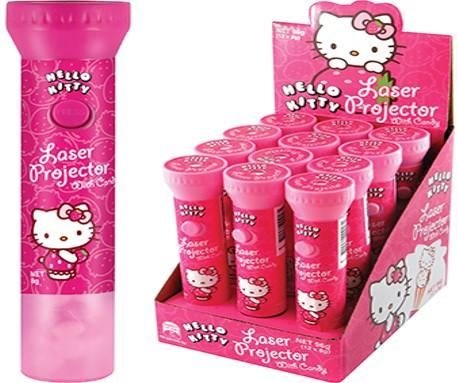 HELLO KITTY LASER PROJECTOR 7G X 12