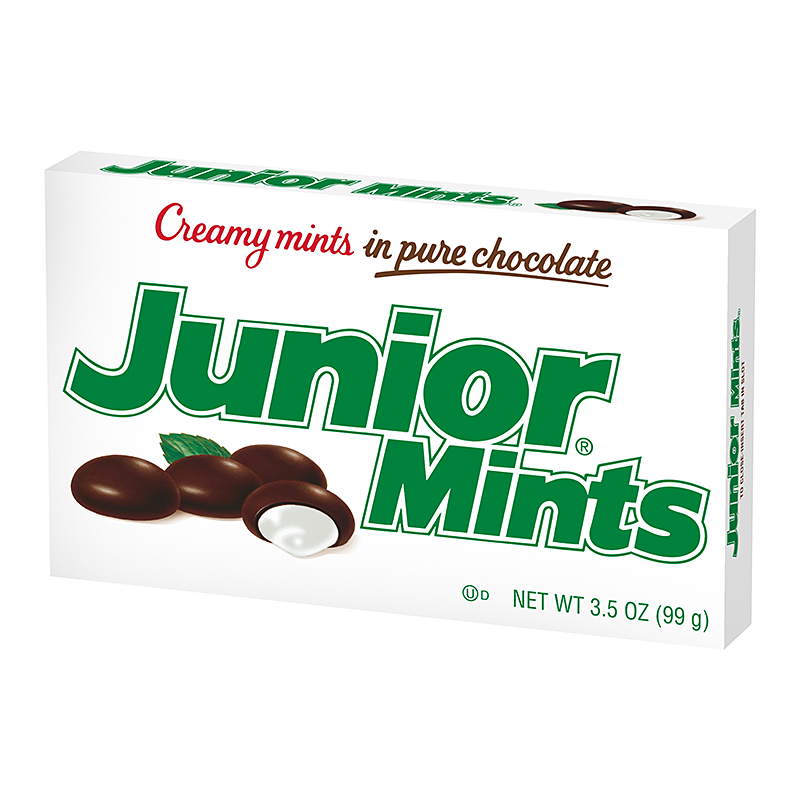 Junior Mints 99G X 12 - nutsandsweets.com.au