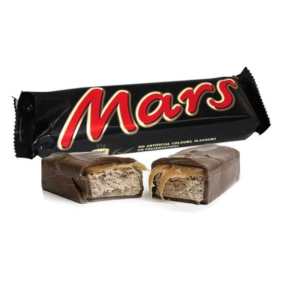 Chocolate MARS BAR 53G X 48