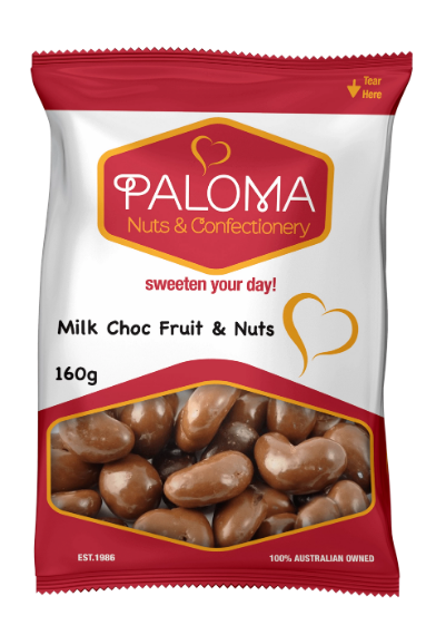 Paloma Choc Fruit & Nut