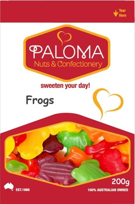 Paloma Frogs
