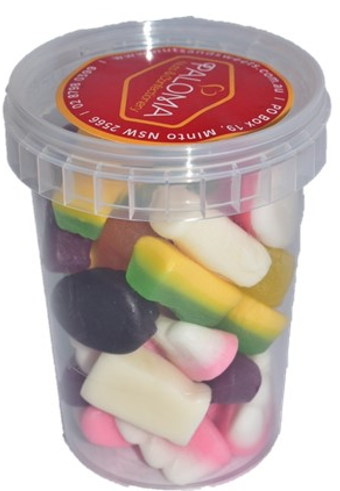 Paloma Mixed Lollies (Cup)  120g  x 30 - nutsandsweets.com.au