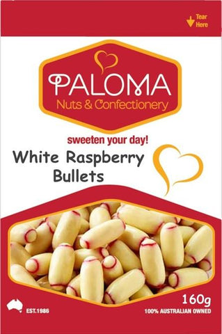 WHITE RASBERRY BULLETS 160g