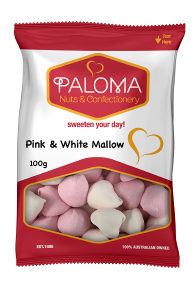 Paloma Pink & White Mallows