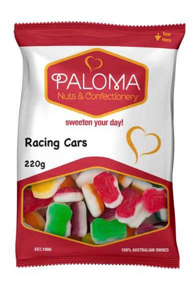 Paloma Racing Cars Gummies