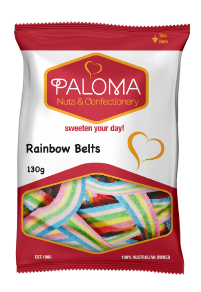 Paloma Sour Rainbow Belts