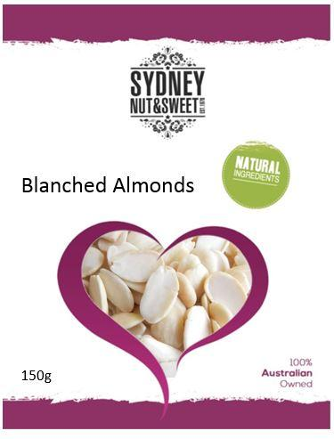 Sydney Nut and Sweet Almonds Blanched - nutsandsweets.com.au