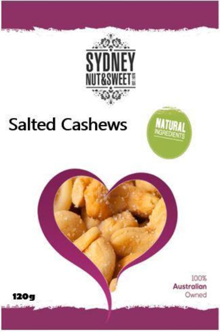 Sydney Nut and Sweet Salted Cashews (Jumbo Size) - nutsandsweets.com.au
