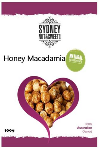 Macadamias Honey 100g
