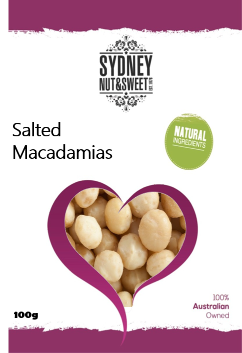 Sydney Nut and Sweet Salted Macadamias - nutsandsweets.com.au