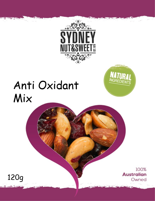 Sydney Nut and Sweet Anti-Oxidant Mix
