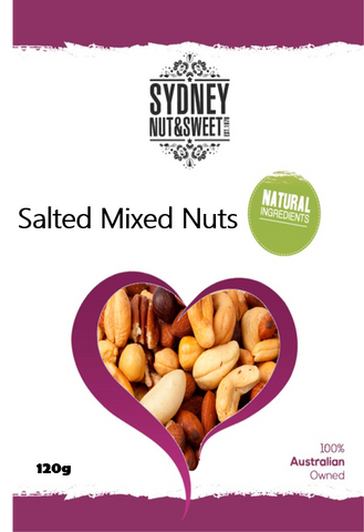 Mixed Nuts Salted 120g