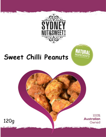 Peanuts Sweet Chilli 120g