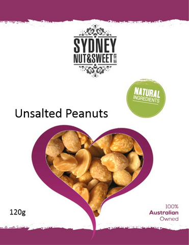 Peanuts Unsalted 120g