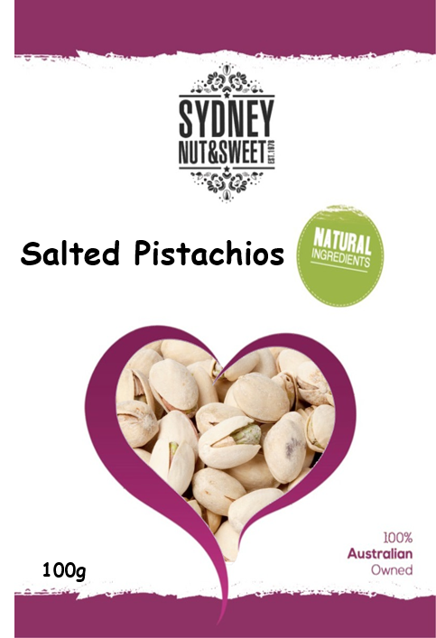 Sydney Nut and Sweet Salted Pistachios - nutsandsweets.com.au