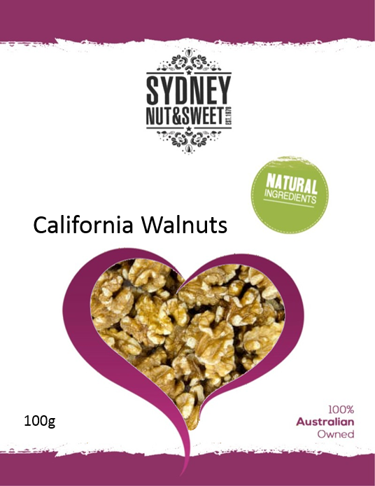 Sydney Nut and Sweet Californian Walnuts