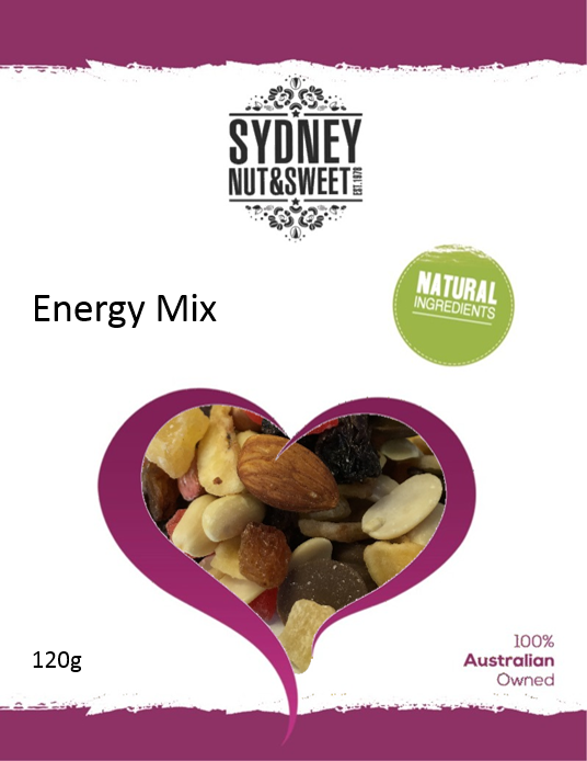 Sydney Nut and Sweet Energy Mix - nutsandsweets.com.au