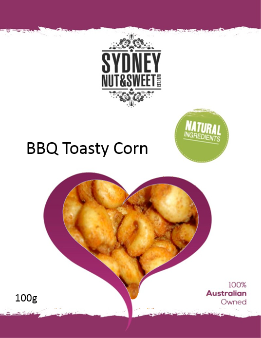 Sydney Nut and Sweet Toasty BBQ Corn - nutsandsweets.com.au