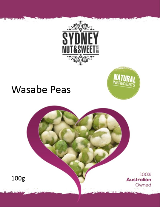 Wasabe Peas