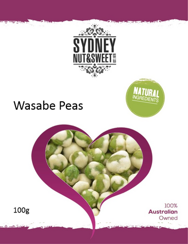 Wasabe Peas  100g