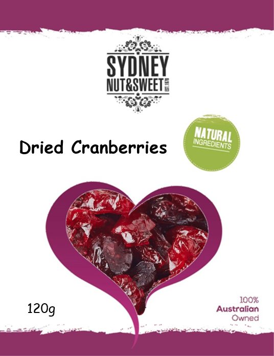 Sydney Nut and Sweet Dried Cranberries - nutsandsweets.com.au