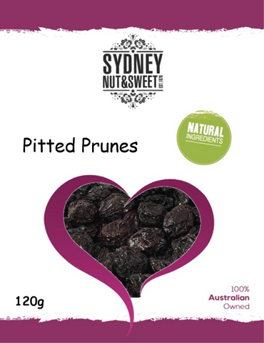 Prunes Pitted 120g