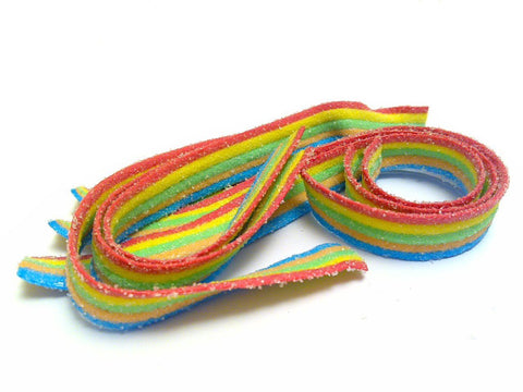 Sour Rainbow Belts 1KG