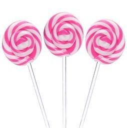 SWIRLY POP PINK 50G X 10