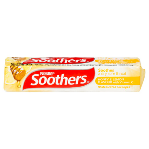 Soothers Honey & Lemon 10's X 36