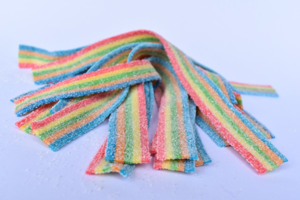 Bulk Sour Rainbow Belts