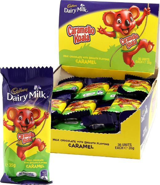 Chocolate Caramello Koala 35G X 36