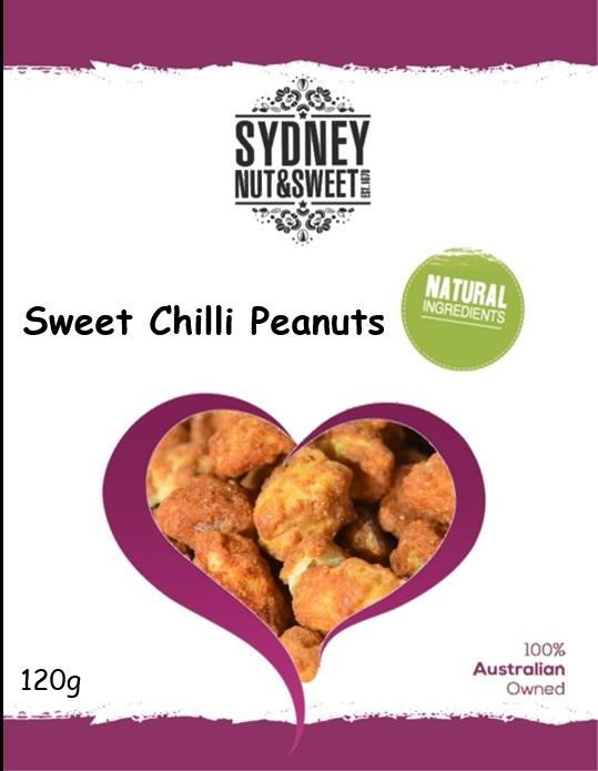 Sydney Nut and Sweet Sweet Chilli Peanuts