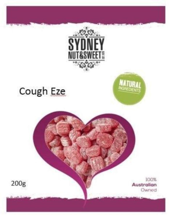 Sydney Nut and Sweet Cough Eze - nutsandsweets.com.au