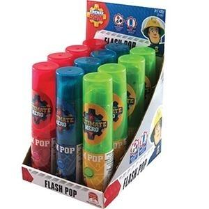 Novelty FIREMAN SAM FLASH POP 34G X 12