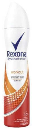 REXONA WOMEN-Workout 250ML X 6 PACK - nutsandsweets.com.au