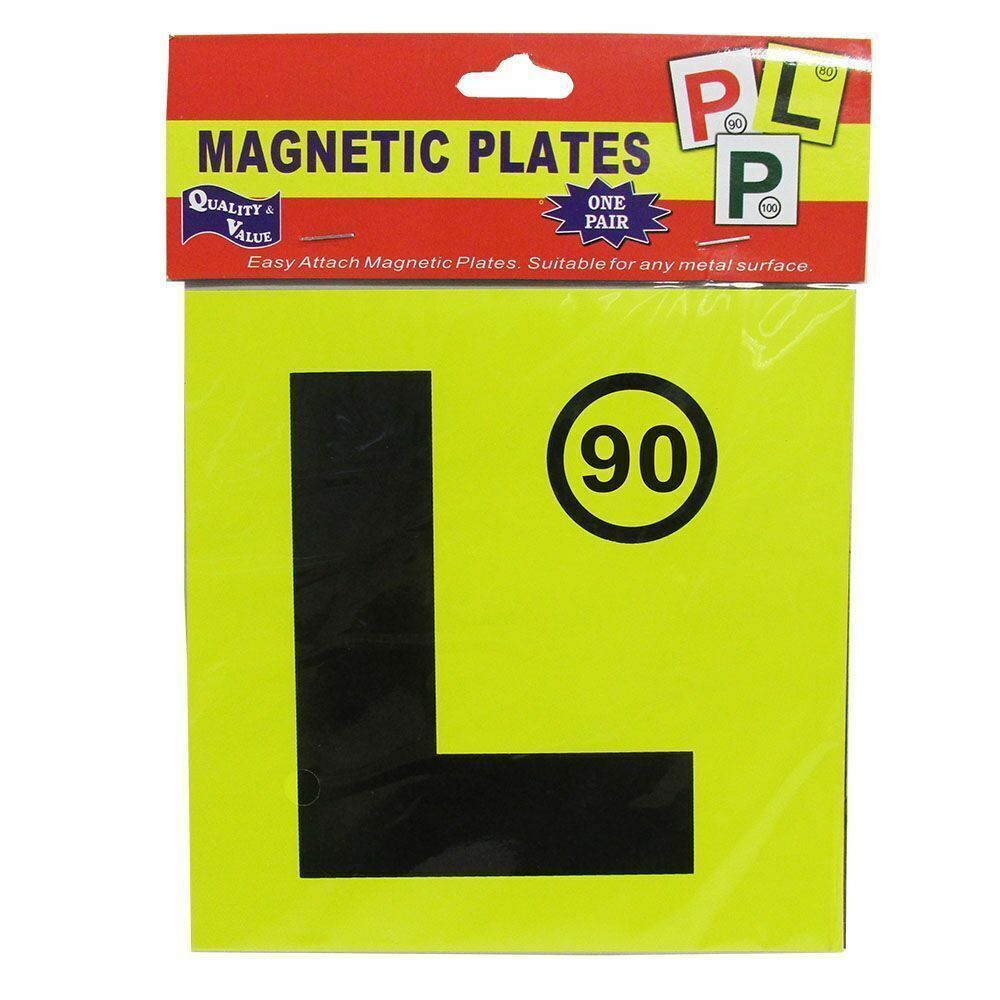 Automotive - L MAGNETIC PLATES 2-pack - nutsandsweets.com.au