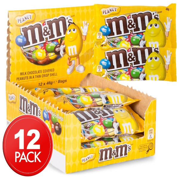 Chocolate M&M Peanut 46G X 12
