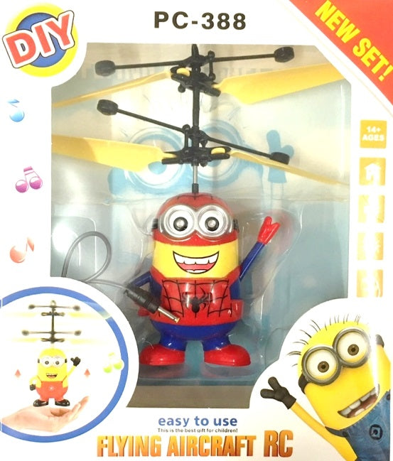Minion SpiderMan Flying Helicopter - nutsandsweets.com.au