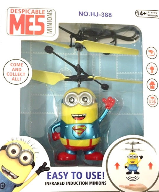 Minion Superman Flying Helicopter - nutsandsweets.com.au