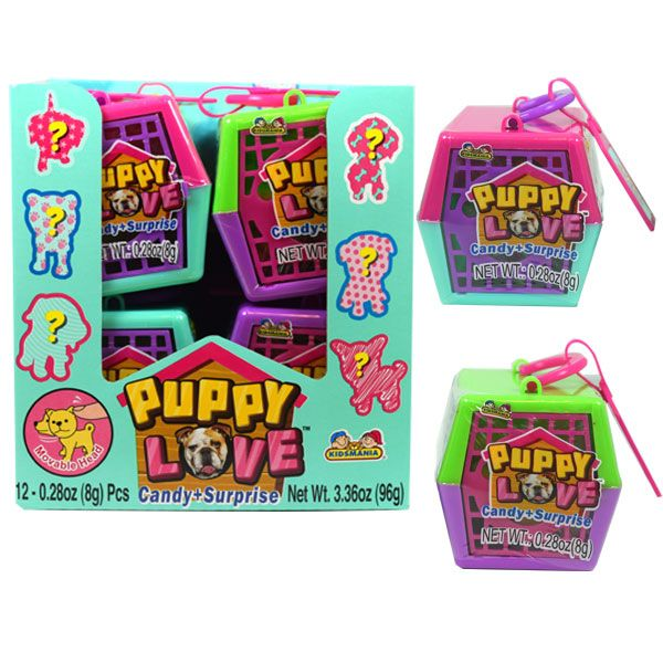 Puppy Love, Candy + Surprise Toy - 12xpack